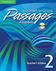 Passages Level 2 Teacher's Edition with Audio CD: An Upper-Level Multi-Skills Course by Jack C. Richards, Chuck Sandy (Mixed media product, 2008)