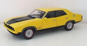 1-18-Scale-AutoArt-Biante-Ford-XB-Falcon-GT-Sedan-Yellow-Blaze-NEW-RELEASE