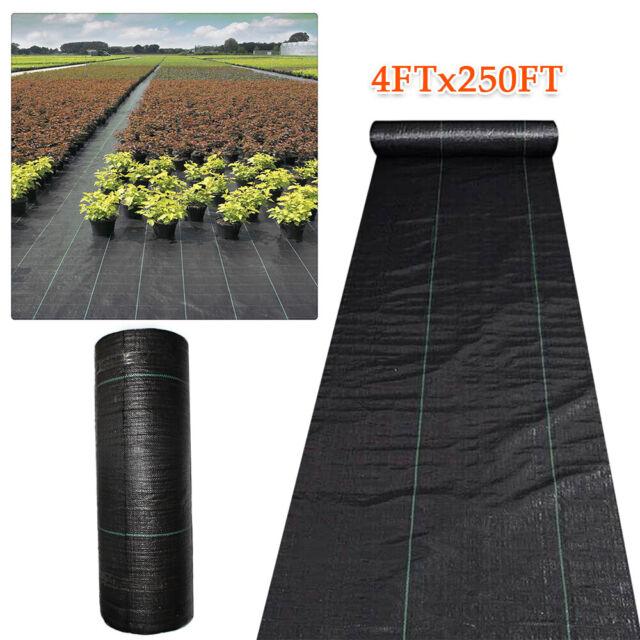 Dewitt Woven Ground Cover Fabric 3 8 Oz White Black 2 Ft X 300 Ft For Sale Online Ebay