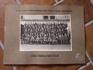 Foto-Soldados-con-Permisos-de-Tiro-en-Marca-Nacional-1923-24-Reggio-Emilia-Corso