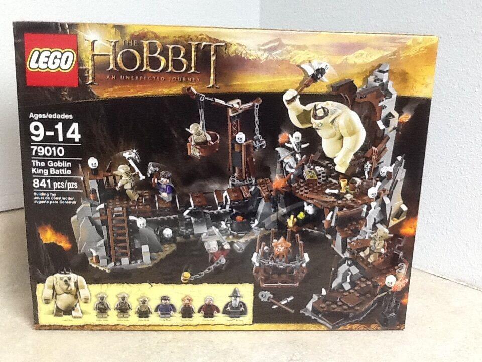 LEGO THE HOBBIT, THE GOBLIN  re BATTLE 79010 RETIrosso 8 MINIFIGS  la vostra soddisfazione è il nostro obiettivo