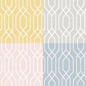 Details about Arthouse New York Geo Pastel Geometric Shape Contemporary 3D  effect Wallpaper