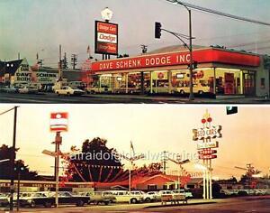 Dodge Dealership San Diego >> Photo. 1960s. Whittier, CA. Dave Schenk Dodge - Auto Dealership | eBay