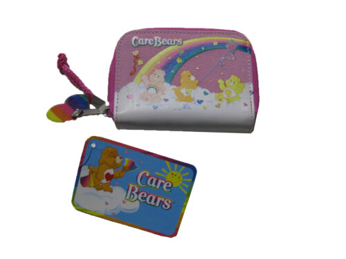 """Care Bears PINK Coin Purse 3/"""" x 4.5/"""" BRAND NEW WITH TAGS"""