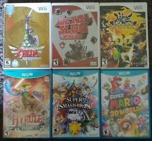 Nintendo-Wii-U-and-Wii-lot-Mario-and-Zelda