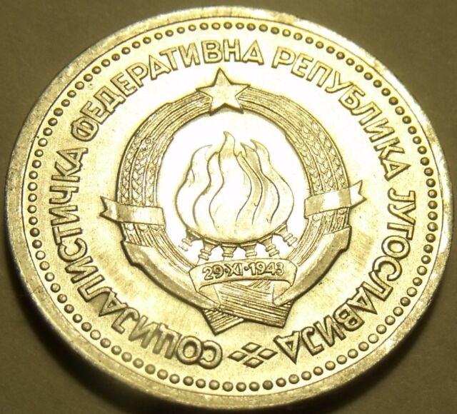 Gem Uncirculated Yugoslavia 1963 1 Dinar~Fantastic Price~Free Shipping