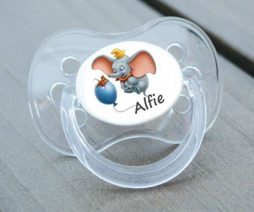 BO 6 PERSONALISED DUMMY PACIFIER SOOTHER ALL TEATS,SIZES /& COLOURS