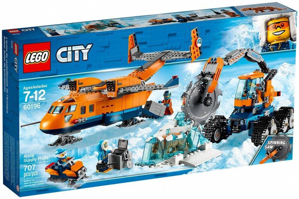 Lego City 60196 L'avion De RaviTallament Arctique Neuf