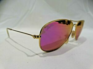 Ray-Ban-RB3362-Cockpit-Gold-and-Pink-Purple-Mirror