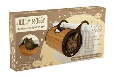 Heizungsliege Katzentunnel ~ Jolly Moggy Bamboo ~ 2 in 1