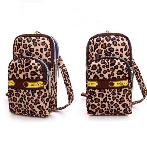 Women Coin Cell Phone Girl Sport Unique Design Wallet Pouch Shoulder Bag Purse