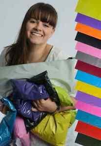 Folien-Versandtaschen-verschiedene-Farben-und-Groessen-bunte-Versandbeutel-LDPE