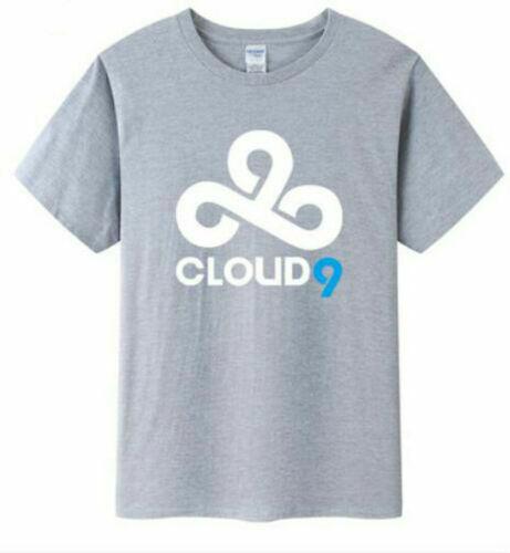 New CLOUD9 C9 team uniforms LOL half sleeves E-sports half sleeve t-shirt