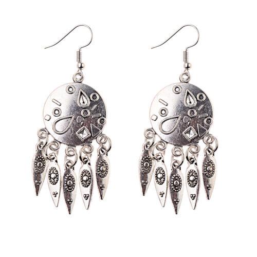2019 Fashion Vintage Bohemian Boho Gypsy Style Drop Hook Women Earrings Jewelry
