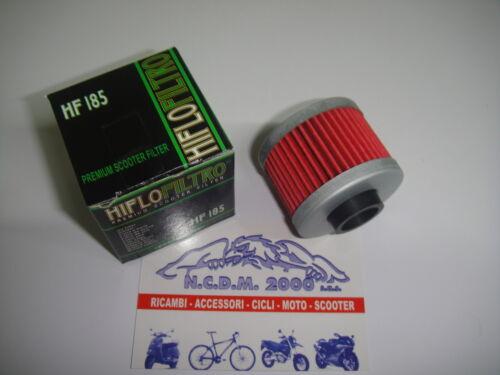 FILTRO OLIO HF185 HIFLO APRILIA Scarabeo 4T Rotax 200 1999-2004