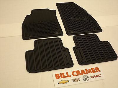 22906996 2013-2016 Chevrolet Malibu Front and Rear Premium All Weather Mats