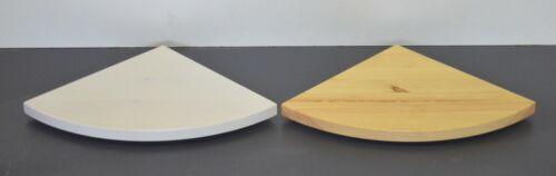 Massivholz Holz Wandboard Board Eckregal Ablage Regal Brett Kiefer lackiert