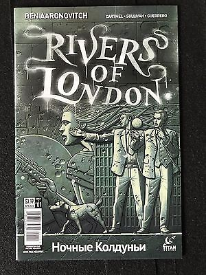 Rivers of London Fey /& the Furious #1 Cover A NM 2019 Titan Vault 35