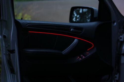 LED EL Lichtleisten Ambientebeleuchtung Innenraumbeleuchtung Neon Orange