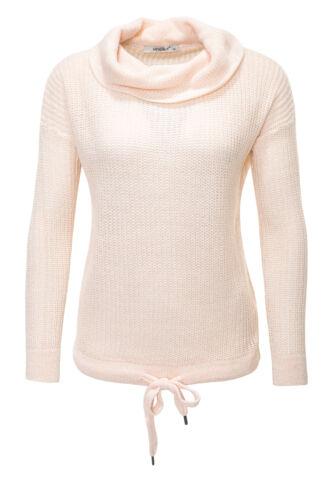 Hailys Damen Strickpullover Pullover Sweater Pulli Basic Color Mix NEU /%