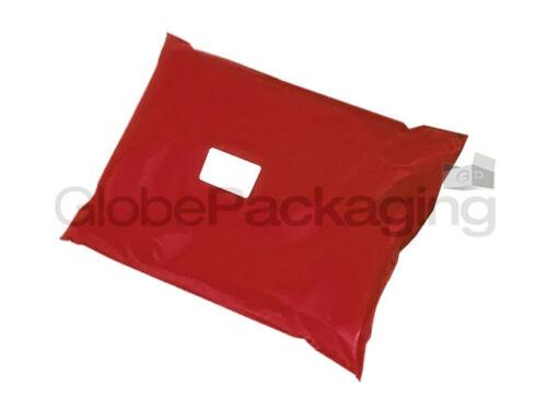 "170x240mm 10 X Forte RED 6x9 /""Spedizione Postale Poly AFFRANCATURA sacchetti mailer 6/"" x9 /"""