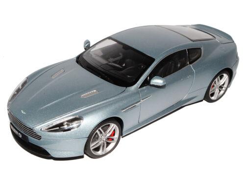 Aston Martin DB9 Silber  1//18 Welly Modell Auto mit oder ohne individiuellem W..