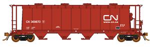 RAPIDO 1 87 HO CANADIAN NATIONAL 3800 CU. FT. CYLINDRICAL HOPPER RD F S