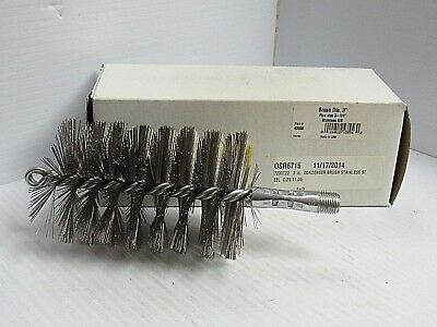 """14 Schaefer 43539 1-1//2/"""" Brush 1-3//4/"""" Flue Stainless Steel SS"""