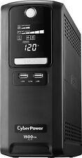 CyberPower - 1500VA Battery Back-Up System - Black