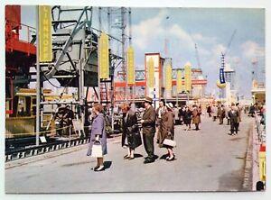 AK Postkarte Messe Hannover mit Linnhoff Maschinenbau und Besuchern, Industrie - Münster, Deutschland - AK Postkarte Messe Hannover mit Linnhoff Maschinenbau und Besuchern, Industrie - Münster, Deutschland