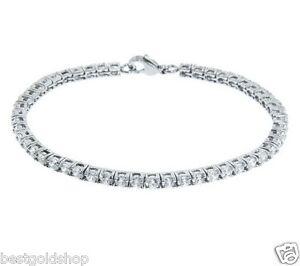 Image Is Loading Diamonique Cz Round Cut G Set Tennis Bracelet