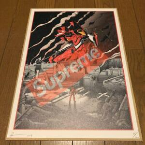 DEATH-NYC-EVANGELION-UNITE-2-ASUKA-SUPREME-GENUINE-ART-PRINT-2019-ED-UNUSED-F-S