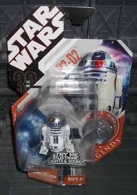 R2-D2 with SILVER ESB COIN STAR WARS SAGA LEGENDS