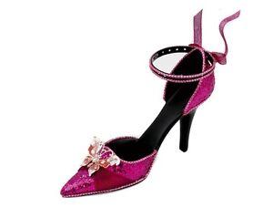 pink Paillette Ohrring Ring Halterung Schuhe Weihnachtsgeschenk von Katz rh-05
