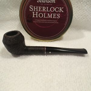 Dr-Grabow-BELVEDERE-Tobacco-Smoking-Pipe-Wire-Rusticated-With-Stinger-VINTAGE
