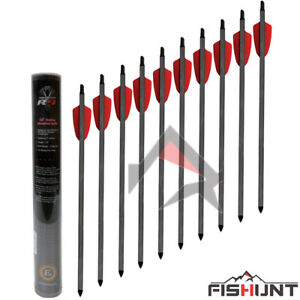 Details about EK Archery R9 Cobra Pistol Carbon Bolts Crossbow Bolts 15