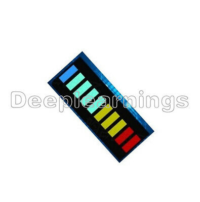 1 PCS New 10 Segment Led Bargraph Light Display Red Yellow Green Blue
