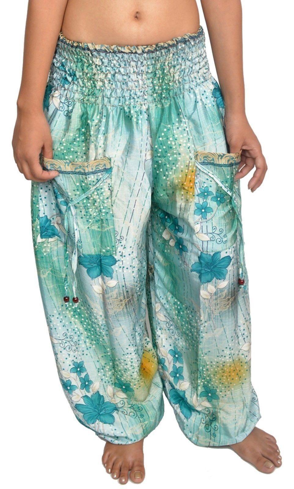Frauen Casual Harem Pocket Hose viel 10 Stück sortiert