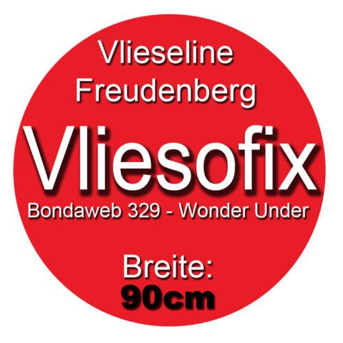 Freudenberg//Vlieseline 0,5 Meter Vliesofix 90cm breit beidseitig haftend