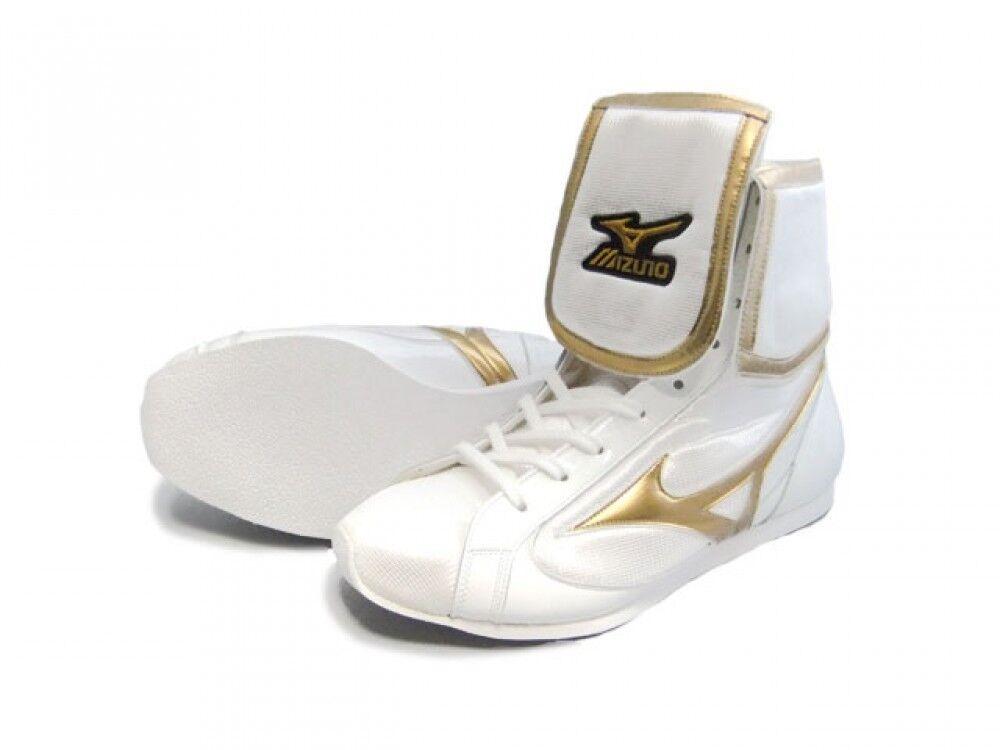 Boxing shoes EF type Original  color White X metal gold 36KQ50000 Mizuno JAPAN  best choice