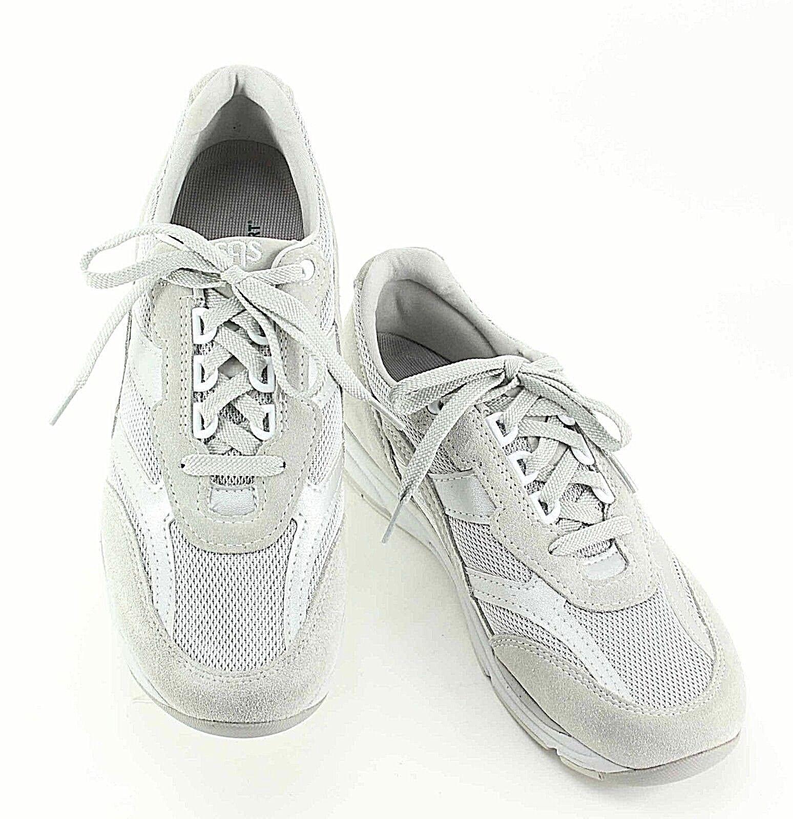 SAS Sz 9.5 Gray Tripad Comfort Suede Mesh Tennis Schuhes F070
