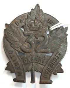 Badge-32nd-Canadian-Infantry-Battalion-WW1