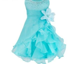 Baby-Girl-Dress-For-Special-Occasion-Ball-Gown-Princess-Style-Floral-Ruffle-Wear