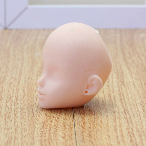 1:6 Soft Practice Makeup DIY Doll Head For 11.5inch Doll Head For 1//6 Dollhouse