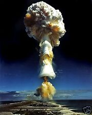 Nuclear Atomic Bomb Test Allies World War 2 WWII 8 x 10 Photo Photograph Picture
