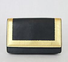 NEW BOTTEGA VENETA Leather Card Holder Wallet Coin Purse Black 133945 4080