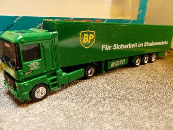 1 87 Albedo Renault AE AE AE BP Koffer Sattelzug 700141 891011