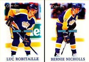2x-OPC-1988-BERNIE-NICHOLLS-28-LUC-ROBITAILLE-32-LOS-ANGELES-KINGS-MINT-LOT