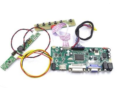 DVI LCD Controller Board Driver kit for LM215WF3-SLC1 HDMI VGA M.NT68676