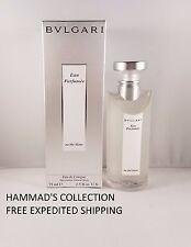 AU The Blanc Bvlgari Eau Parfumee 2.5 Oz 75 Ml EDC Cologne Spray